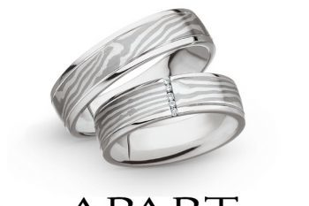 Space Wedding Rings by Spacewed 1