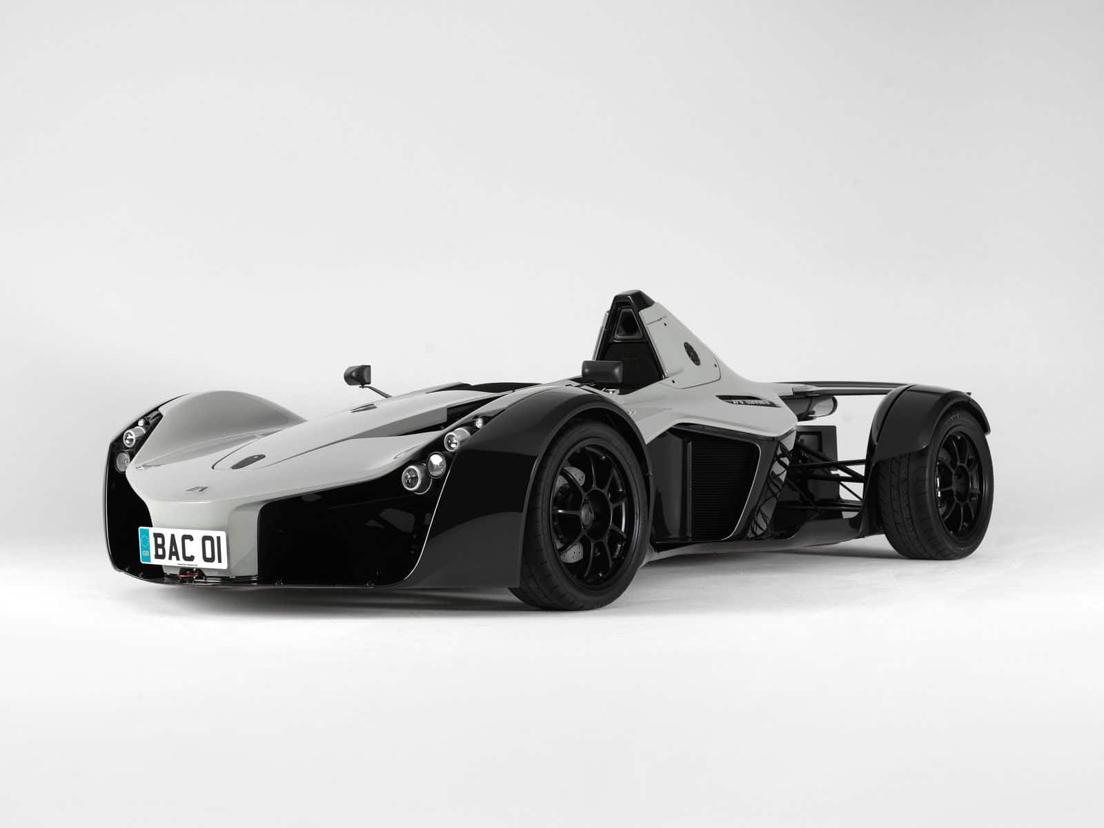 Limited edition BAC Mono single-seater race car