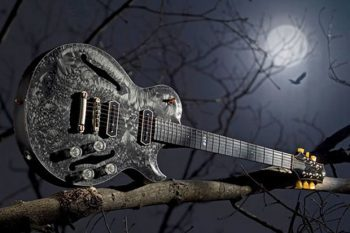 Crow guitar by Jol Dantzig 1
