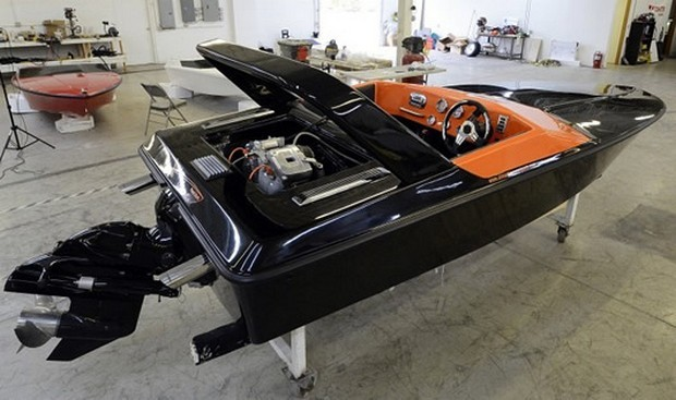 St.Martin F-15 Harley Davidson Power Boat
