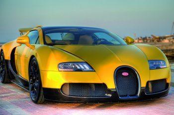 Bugatti Veyron 16.4 Grand Sport Bumblebee 1