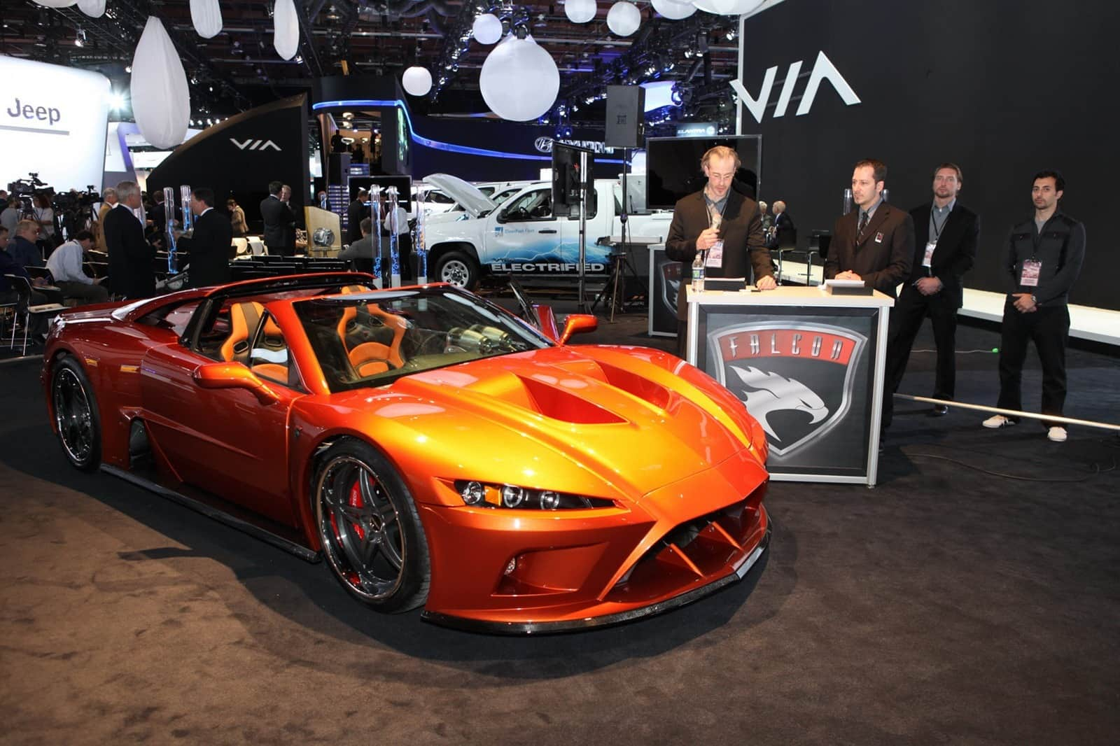The Falcon F7 Is A 225 000 Hand Built Supercar
