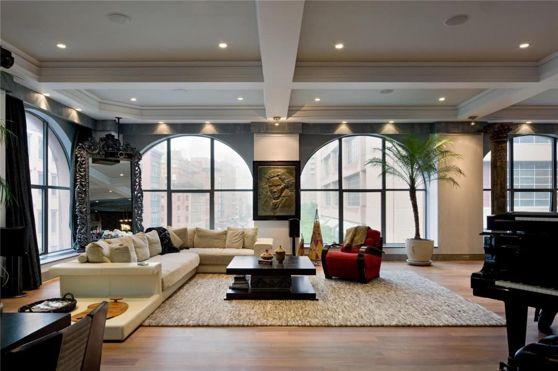 two beautiful lofts for sale in tribeca new york city. Black Bedroom Furniture Sets. Home Design Ideas