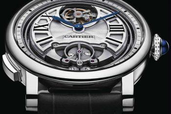 Rotonde de Cartier Minute Repeater Flying Tourbillon 1