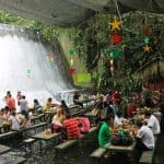 Waterfalls Restaurant in Villa Escudero 4