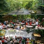 Waterfalls Restaurant in Villa Escudero 5
