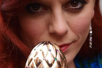 Diamond Jubilee Faberge Egg and Emila Fox 1