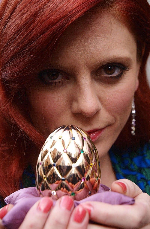 Diamond Jubilee Faberge Egg and Emila Fox 1