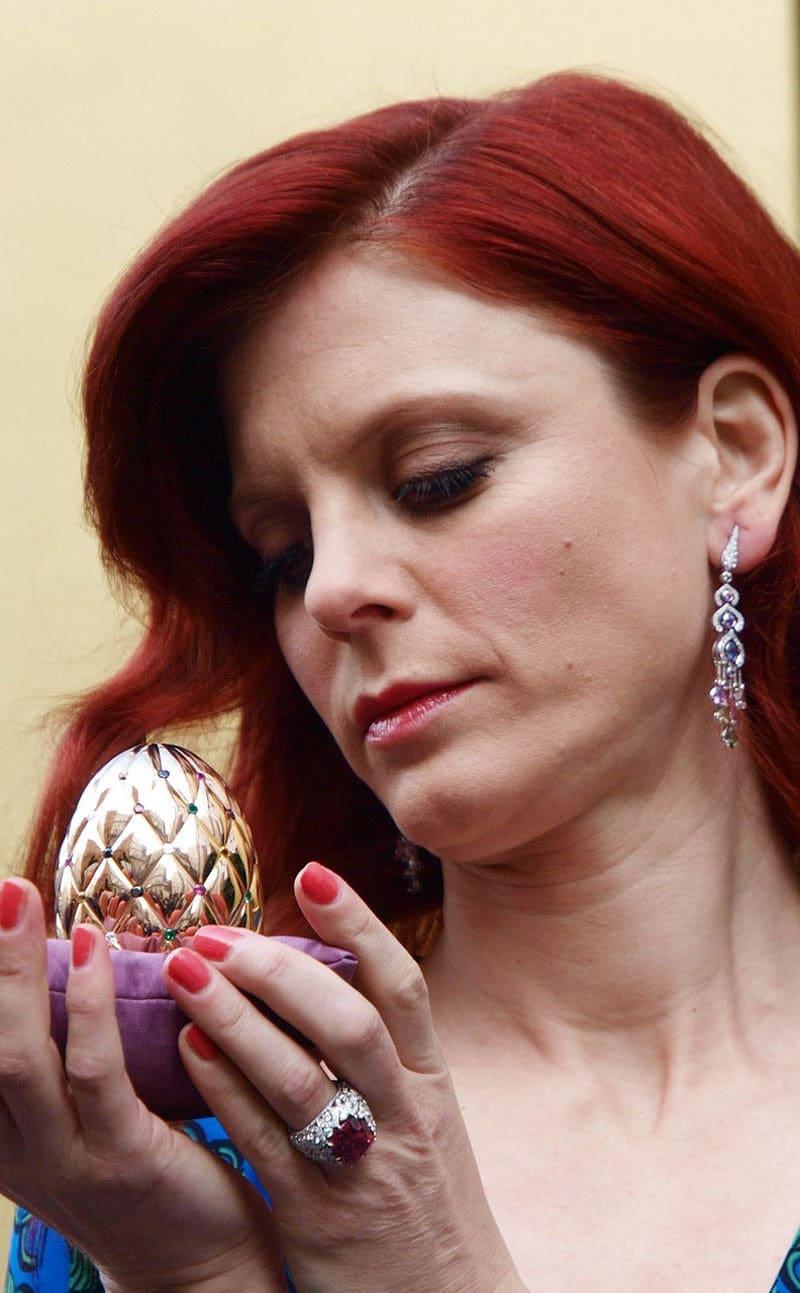 Diamond Jubilee Faberge Egg and Emila Fox 4