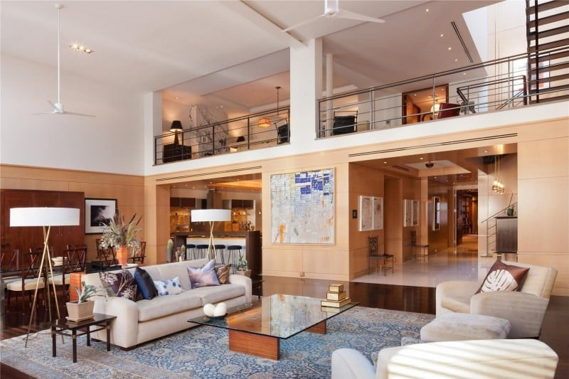 Luxury penthouse for sale on new york city s duane street for Most expensive penthouse in nyc