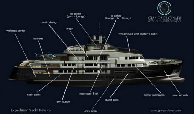 NPe75 Yacht by Gian Paolo Nari 16
