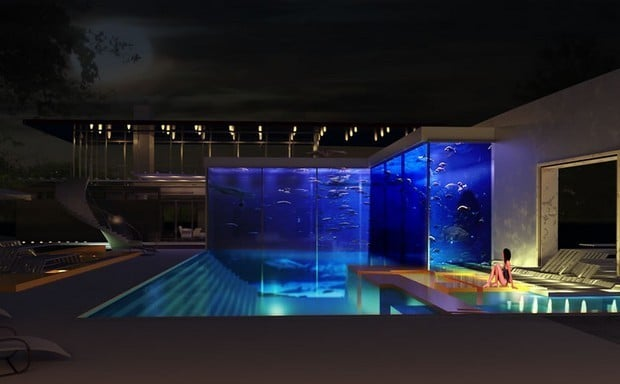 A Bespoke Pool And Aquarium Complex By Okeanos Aquascaping