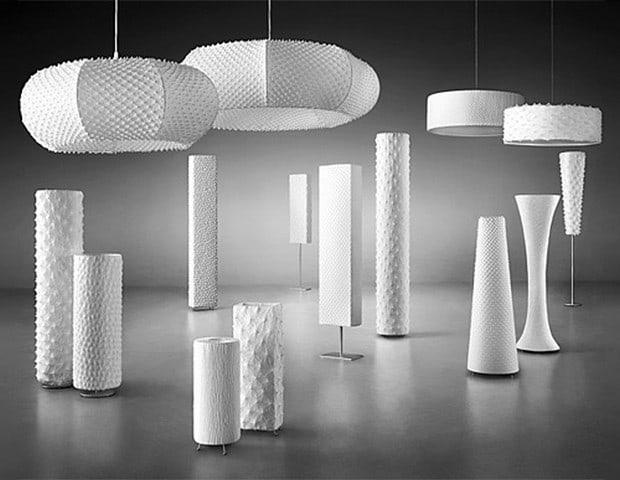 Beautifully Textured Lighting Fixtures By Suzusan Shibori