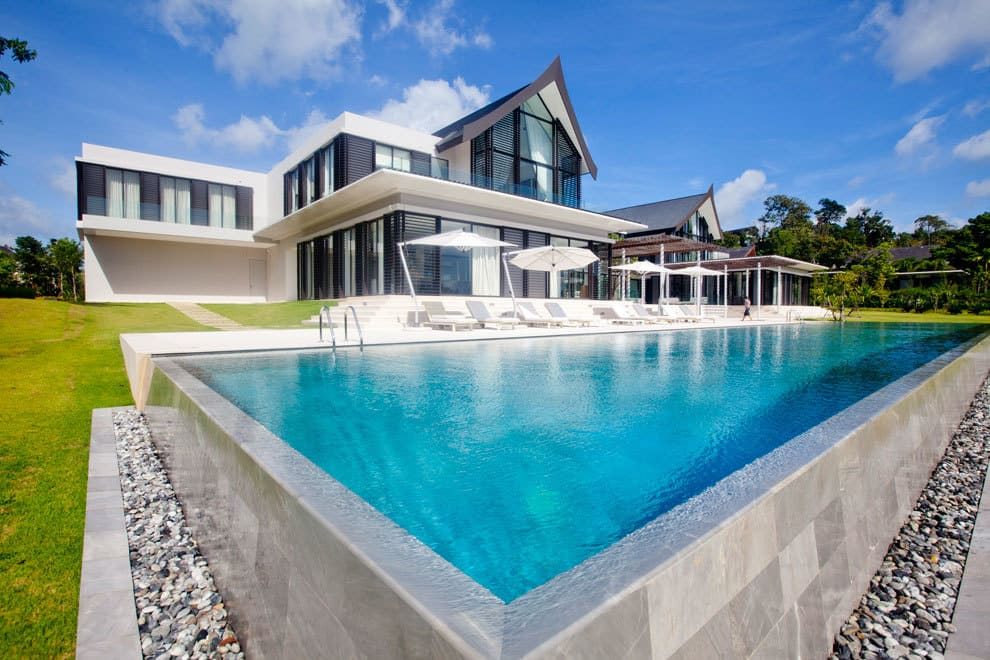 Amazing home in cape yamu phuket thailand villa verai for Thailand houses pictures