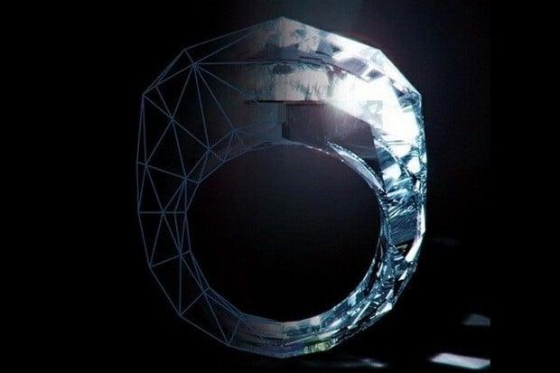 All-Diamond 150-Carat Ring 1