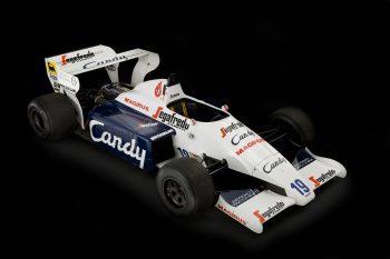 Ayrton Senna Toleman F1 car 1