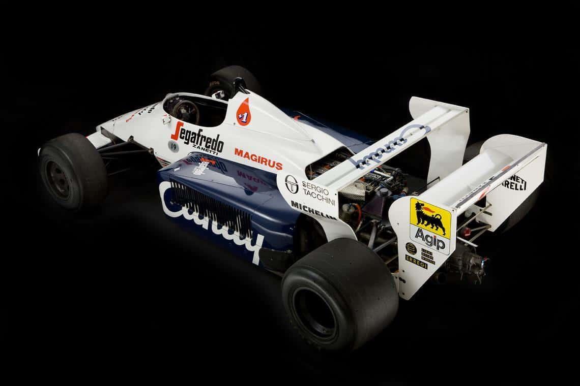 Ayrton Senna Toleman F1 car 2