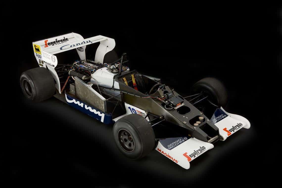 Ayrton Senna Toleman F1 car 4