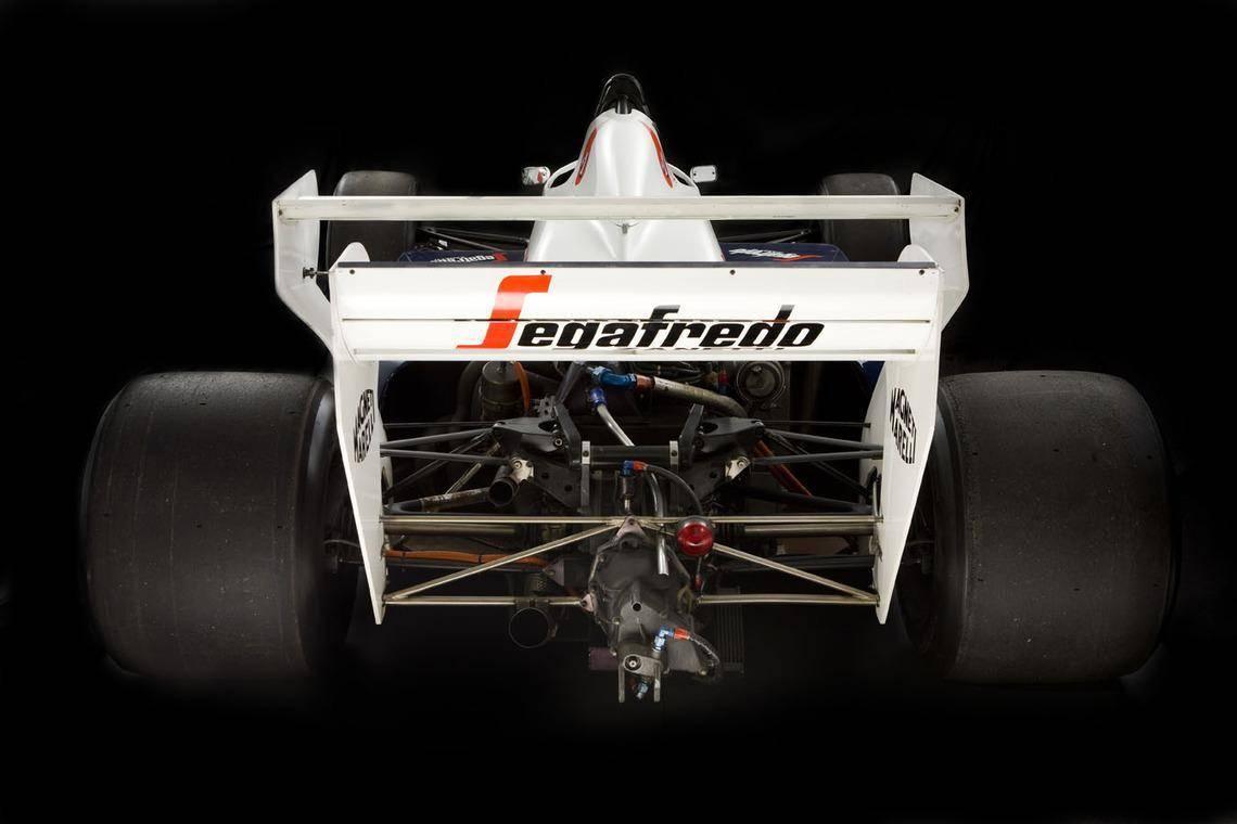 Ayrton Senna Toleman F1 car 5