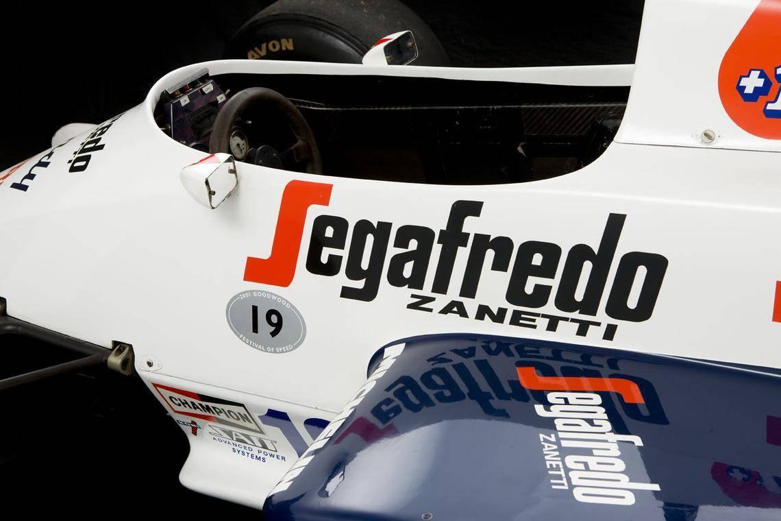 Ayrton Senna Toleman F1 car 6