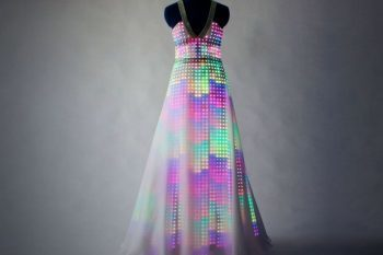 CuteCircuit Aurora LED Dress 1