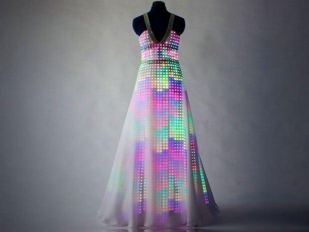 CuteCircuit Aurora LED Dress 1