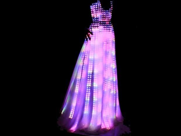CuteCircuit Aurora LED Dress 2