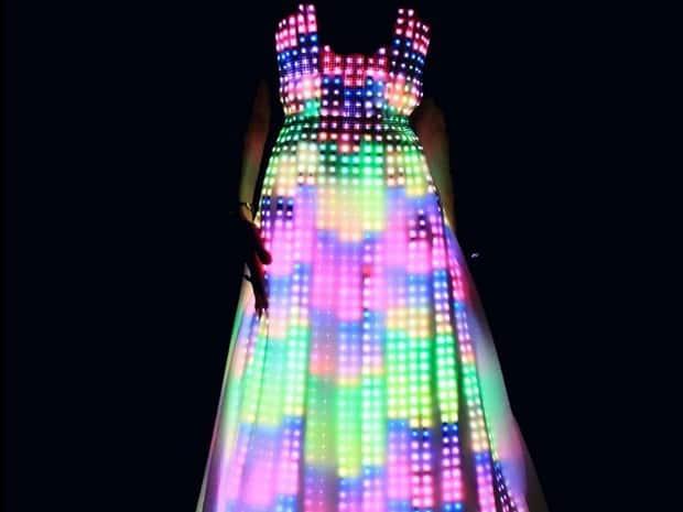 CuteCircuit Aurora LED Dress 3