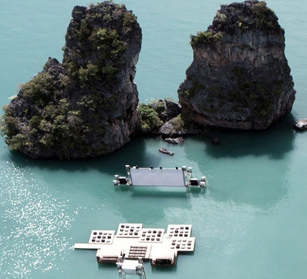 Mind Blowing Floating Movie-theater In Yao Noi, Thailand