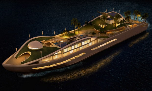 Yacht Island Design mcm design studio island e motion yacht concept