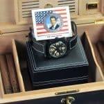 Schwarzenegger Tank Watch and Humidor Package 3