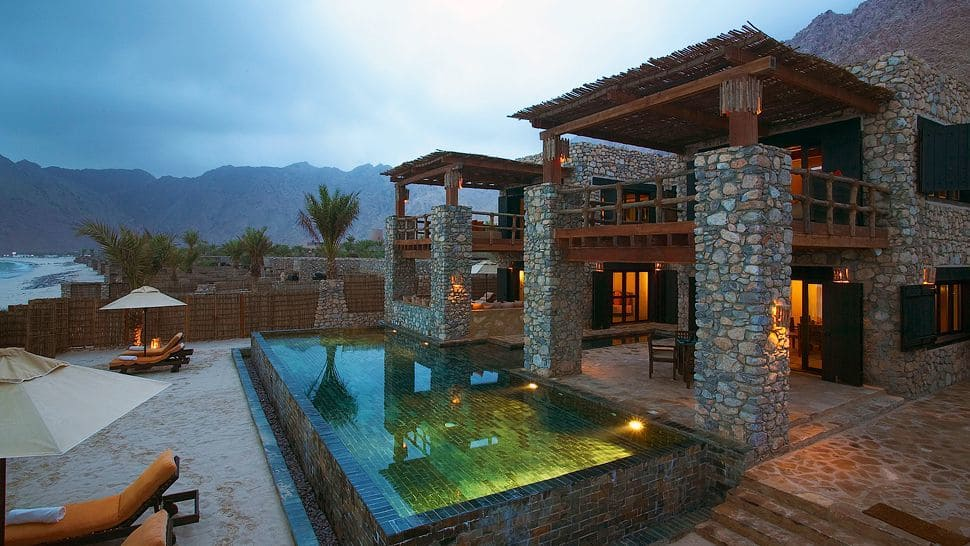 Italian further Interesting House Facade For Modern Mexico Design also Jasper Wildlife Gallery furthermore Stone House Fronts Rustic Addition To Swiss Mountains furthermore The Gorgeous Six Senses Zighy Bay Resort In Oman. on desert mountain homes