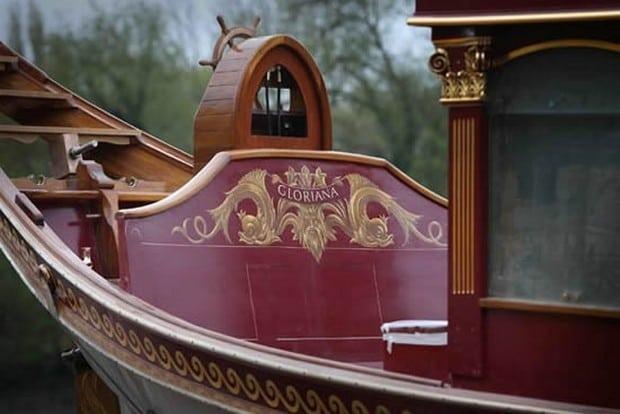 Gloriana royal barge 3