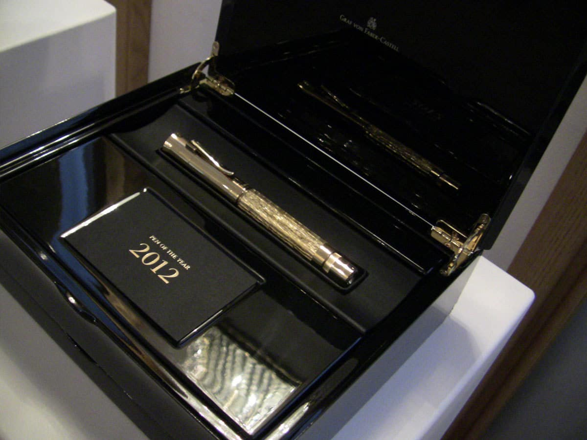 graf von faber castell 2012 pen of the year. Black Bedroom Furniture Sets. Home Design Ideas