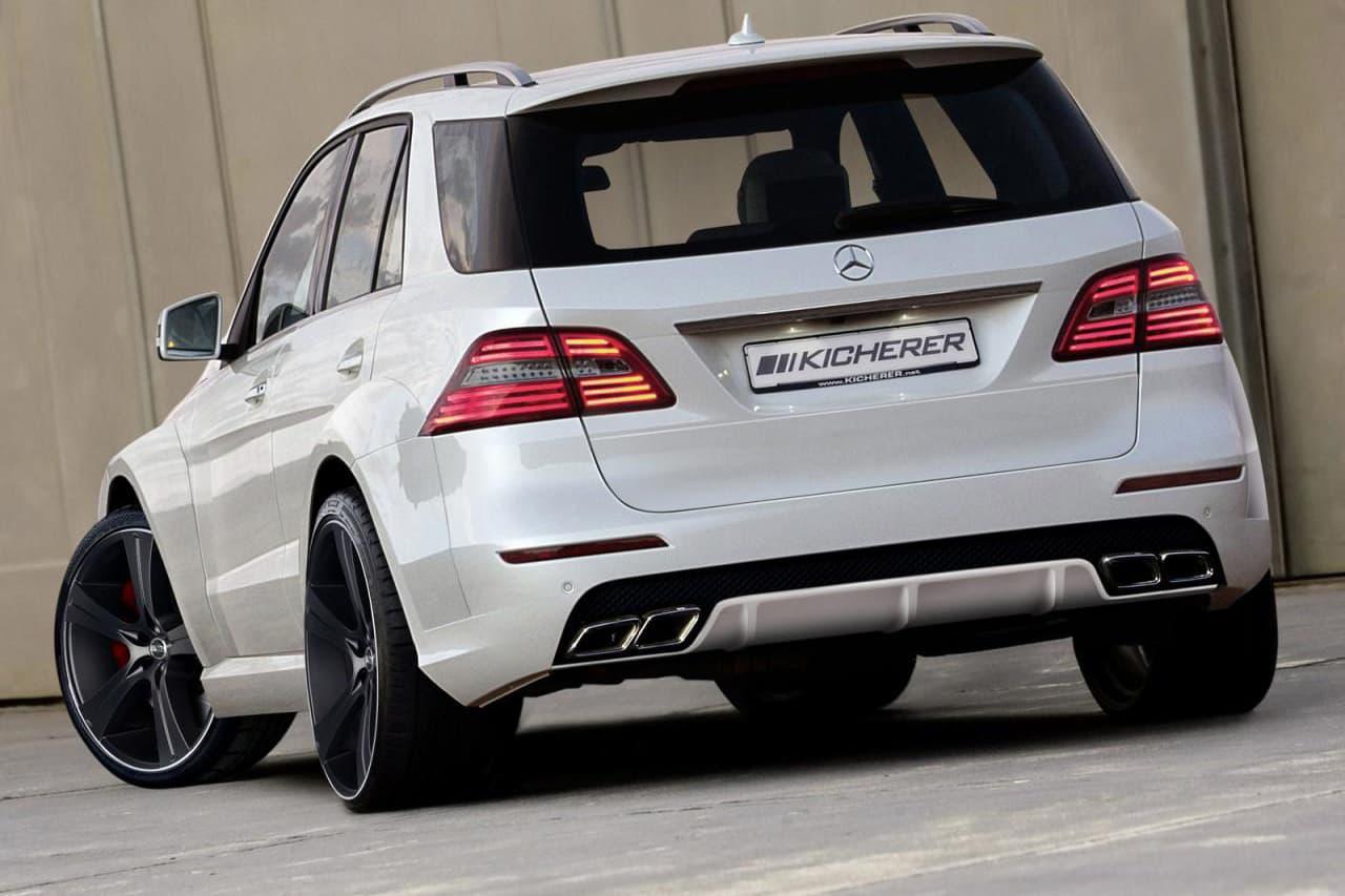 Kicherer Mercedes ML 2