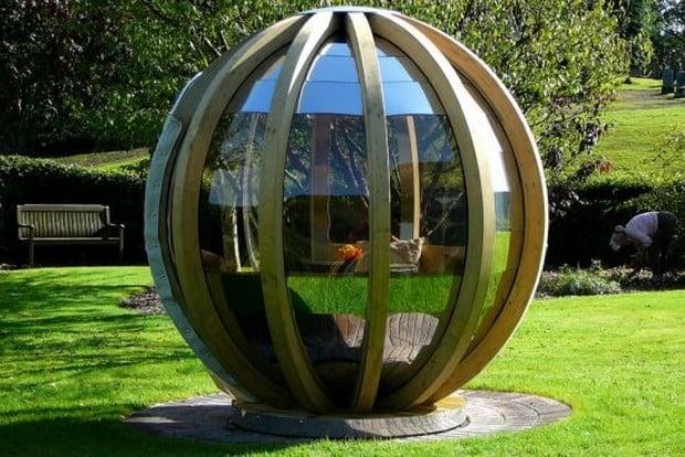 Ornate Garden rotating pods 1