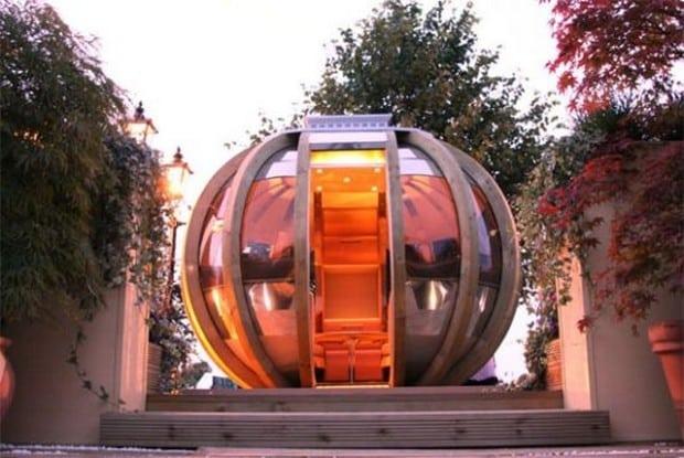 Ornate Garden rotating pods 3