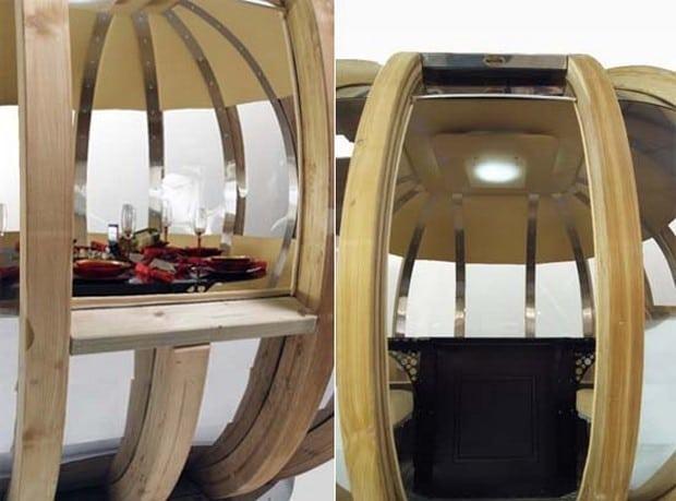 Ornate Garden rotating pods 7