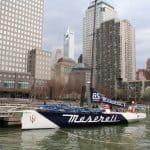Racing yacht VOR70 Maserati 1