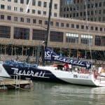 Racing yacht VOR70 Maserati 4