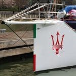 Racing yacht VOR70 Maserati 5