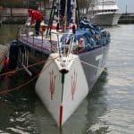 Racing yacht VOR70 Maserati 7