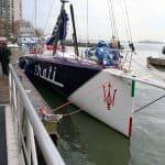 Racing yacht VOR70 Maserati 8