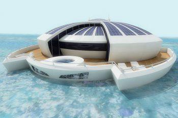 Solar Floating Resort Concept 1