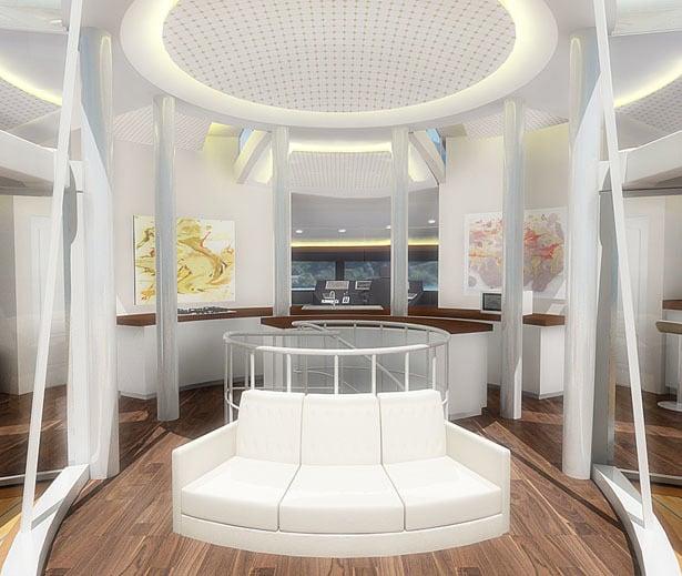 Solar Floating Resort Concept 10