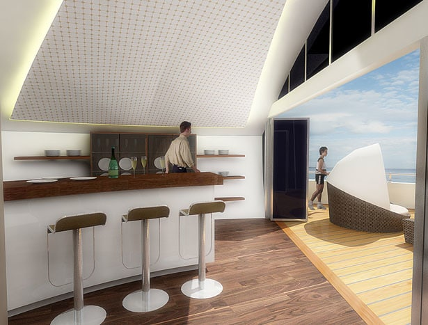 Solar Floating Resort Concept 11