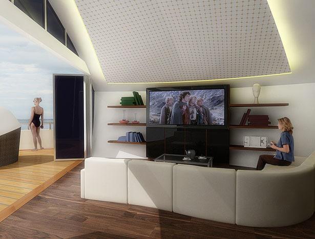 Solar Floating Resort Concept 12