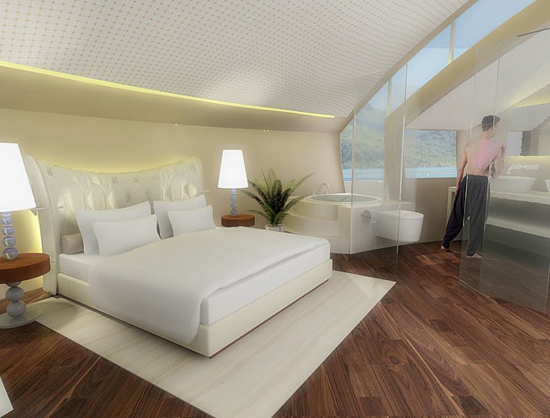Solar Floating Resort Concept 13
