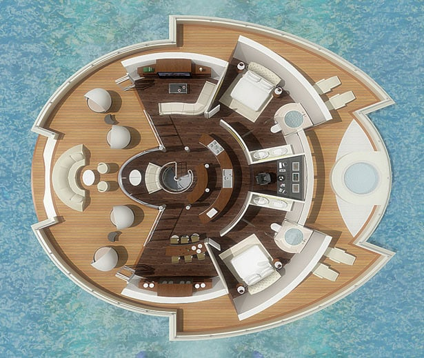 Solar Floating Resort Concept 15