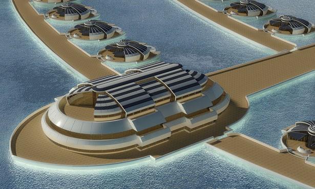 Solar Floating Resort Concept 17